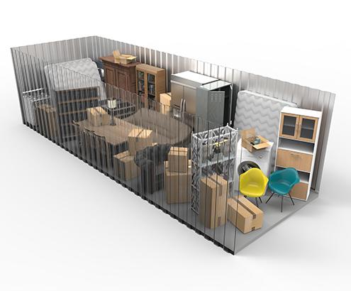 10x25 Storage Unit