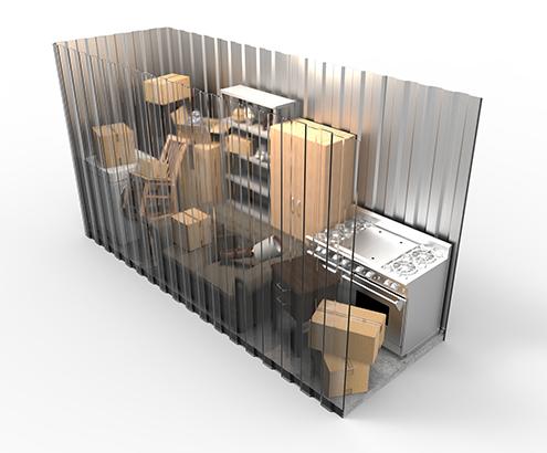 8x8 Storage Unit