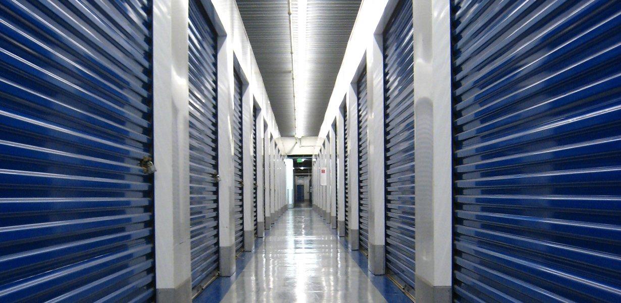 Storage Unit Interior at High Streeet Bridge Storage